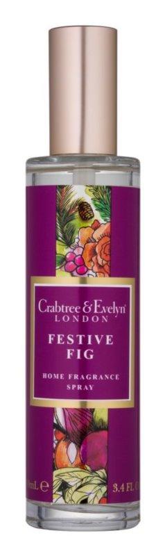 Crabtree & Evelyn Festive Fig bytový sprej 100 ml