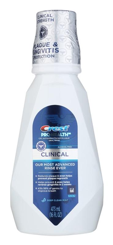 Crest Pro-Health Clinical рідина для полоскання рота для здорових ясен проти карієсу