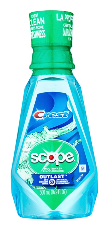 Crest Scope Outlast enjuague bucal para aliento fresco