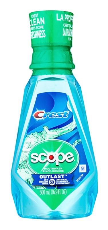 Crest Scope Outlast ústní voda pro svěží dech