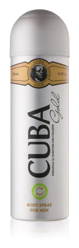 Cuba Gold telový sprej pre mužov 200 ml