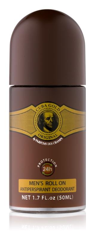 Cuba Gold deodorant roll-on pre mužov 50 ml