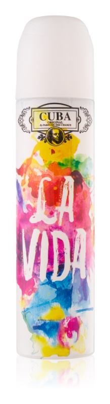 Cuba La Vida parfumska voda za ženske 100 ml