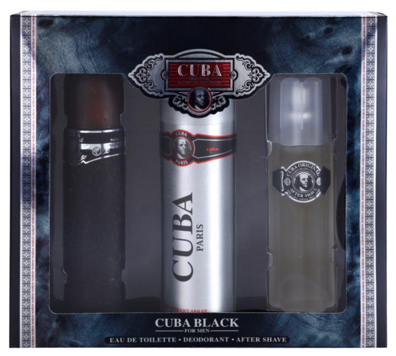 Cuba Black dárková sada II.
