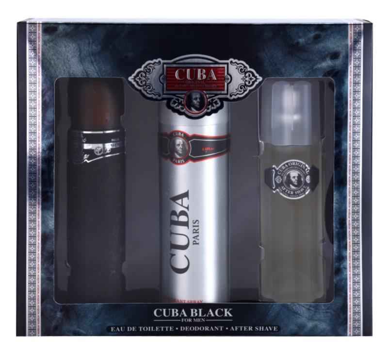 Cuba Black zestaw upominkowy II.
