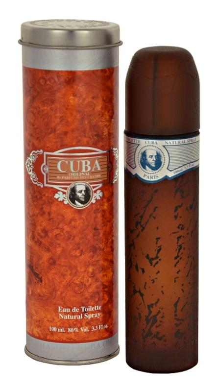 Cuba Blue eau de toilette para hombre 100 ml