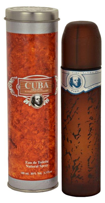 Cuba Blue Eau de Toilette voor Mannen 100 ml