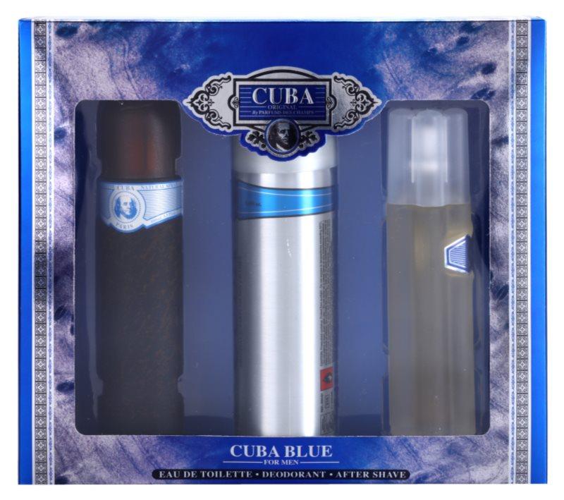 Cuba Blue zestaw upominkowy II.