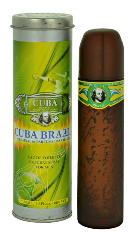 Cuba Brazil Eau de Toilette for Men 100 ml