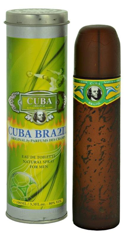 Cuba Brazil woda toaletowa dla mężczyzn 100 ml