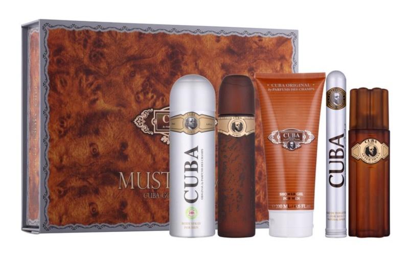 Cuba Gold Gift Set X.