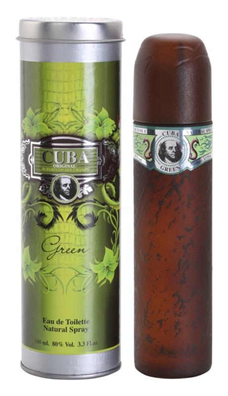 Cuba Green Eau de Toilette Herren 100 ml