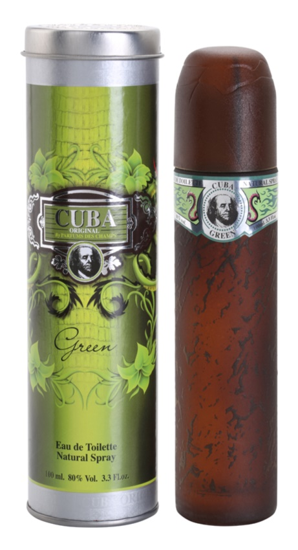 Cuba Green toaletná voda pre mužov 100 ml