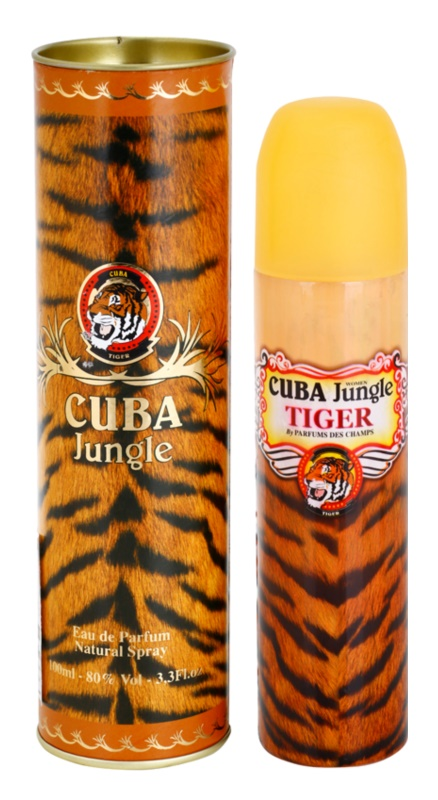 Cuba Jungle Tiger eau de parfum per donna 100 ml