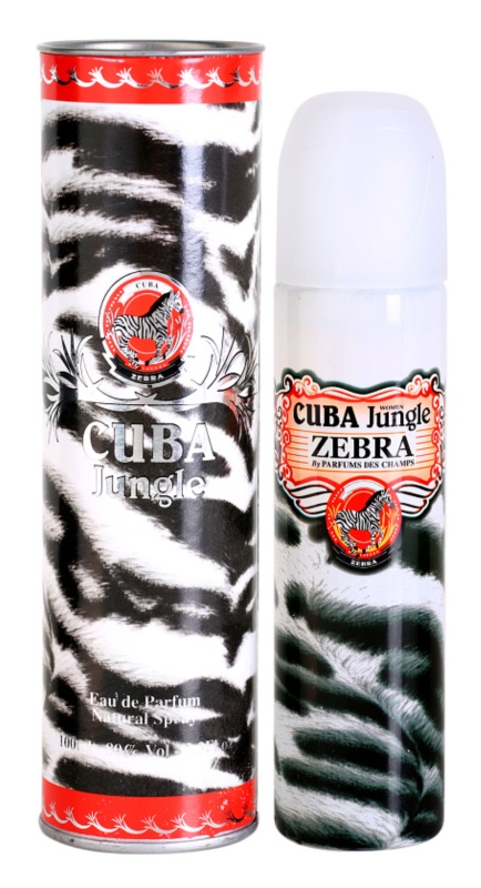 Cuba Jungle Zebra Eau de Parfum for Women 100 ml