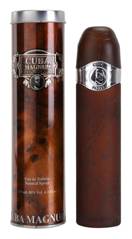 Cuba Magnum Black Eau de Toilette para homens 130 ml