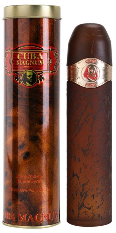 Cuba Magnum Red eau de toilette férfiaknak 130 ml