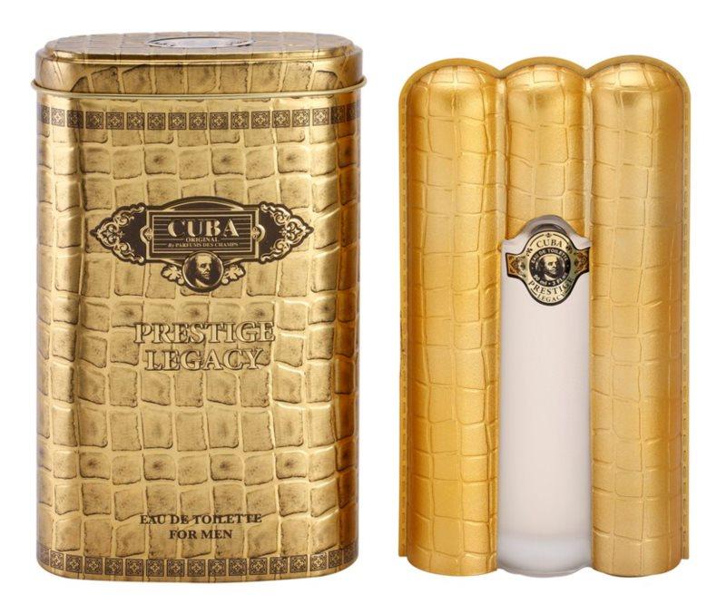 Cuba Prestige Legacy eau de toilette férfiaknak 90 ml