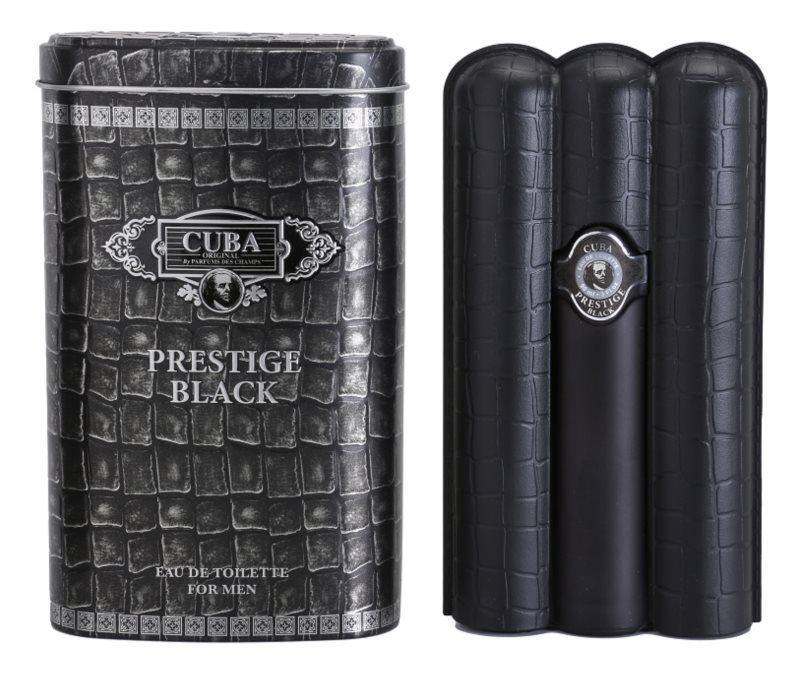 Cuba Prestige Black eau de toilette pour homme 90 ml