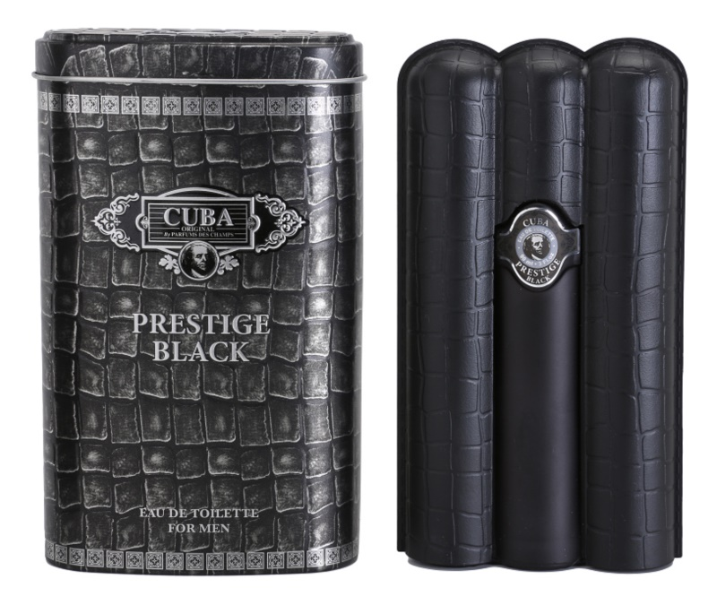 Cuba Prestige Black toaletná voda pre mužov 90 ml