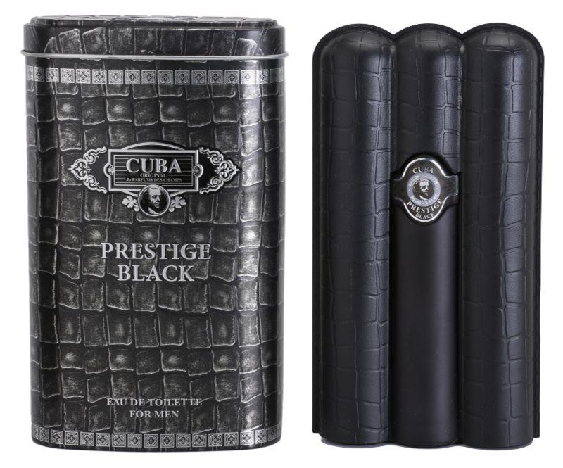 Cuba Prestige Black toaletní voda pro muže 90 ml