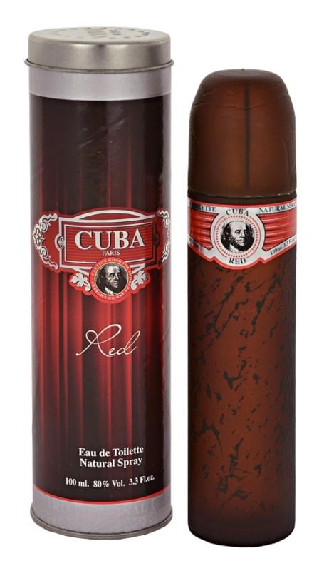 Cuba Red eau de toilette pour homme 100 ml