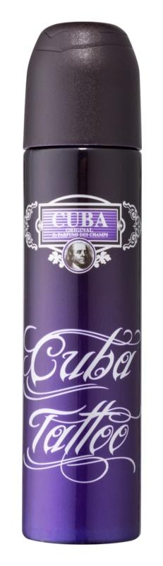 Cuba Tattoo parfémovaná voda pro ženy 100 ml