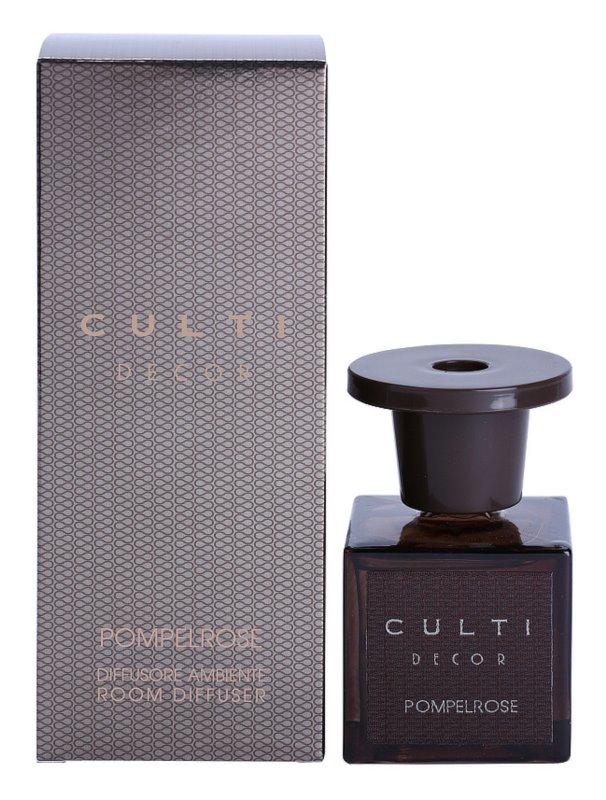 Culti Decor Aroma Diffuser mit Nachfüllung 100 ml kleinere Packung (Pompelrose)