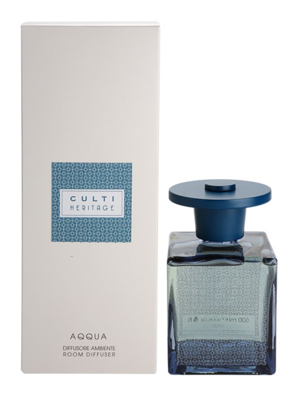 Culti Heritage Aqqua difusor de aromas con esencia 500 ml  (Blue Arabesque)