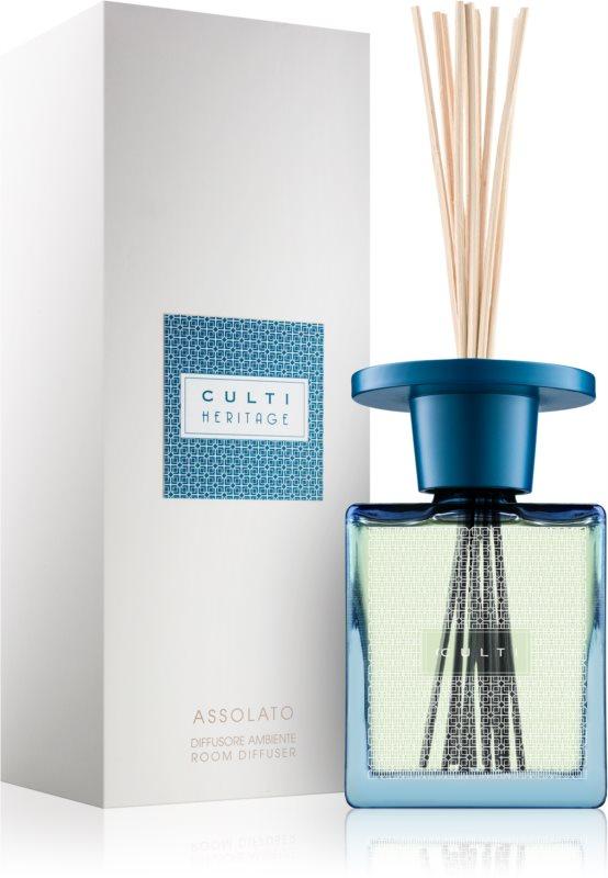 Culti Heritage Assolato Aroma Diffuser With Refill 500 ml I. (Blue Arabesque)