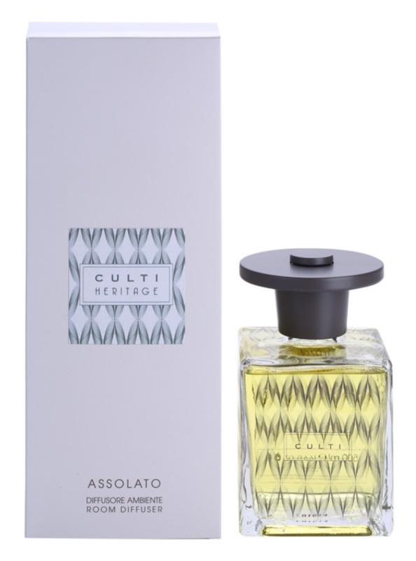 Culti Heritage Assolato Aroma Diffuser mit Nachfüllung 500 ml  (Clear Wave)