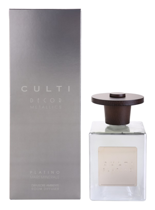 Culti Decor Metallics aroma difuzér s náplní 500 ml  (Platino Mareminerale)