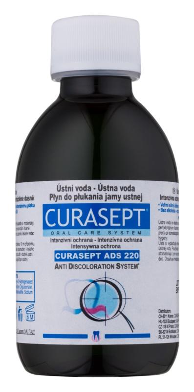 Curaprox Curasept ADS 220 antybakteryjny płyn do płukania jamy ustnej przed i po zabiegach chirurgicznych