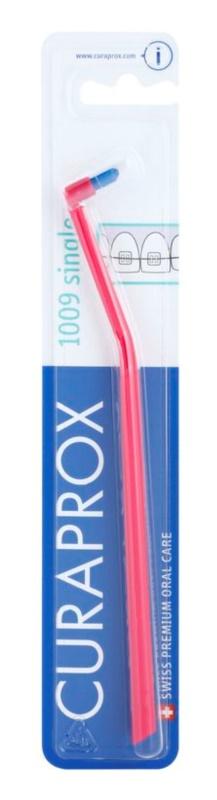 Curaprox 1009 Single escova de dentes individual para utilizadores de aparelho ortodôntico fixo
