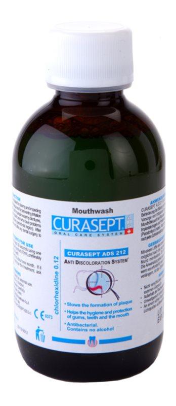 Curaprox Curasept ADS 212 enjuague bucal antibacteriano contra la inflamación de las encías y la piorrea