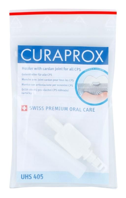 Curaprox Holder UHS 405 въртяща дръжка за резервни четки за почистване на междузъбни пространства