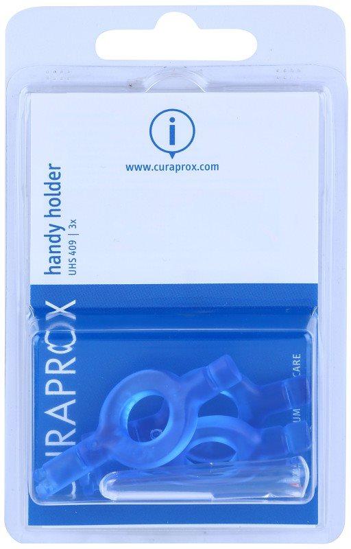 Curaprox Handy Holder UHS 409 suportes para escovas interdentais 3 pçs