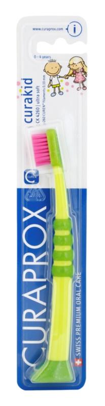 Curaprox 4260 Curakid Zahnbürste für Kinder Ultraweich