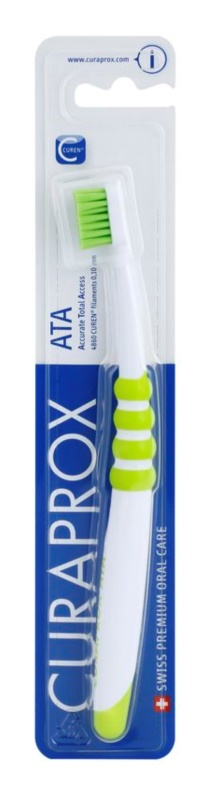 Curaprox ATA 4860 Toothbrush for Childrens & adults with small mouths