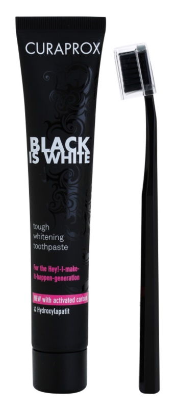 Curaprox Black is White set cosmetice I.