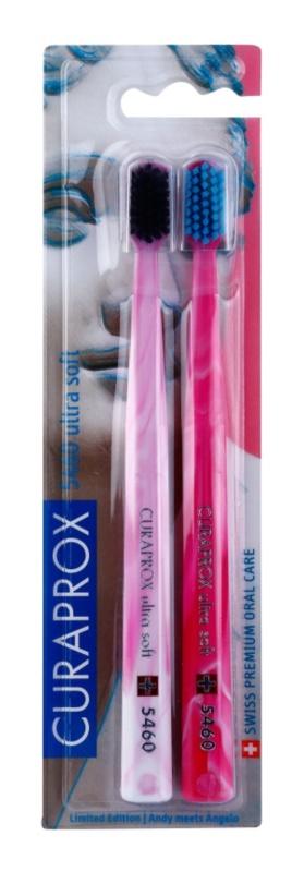Curaprox 5460 Ultra Soft Michelangelo Edition zubní kartáčky 2 ks