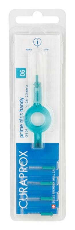 Curaprox Prime Plus Handy CPS brossettes interdentaires de rechange 5 pièces + manche