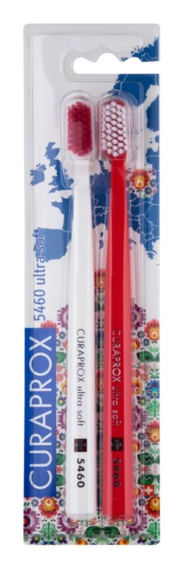 Curaprox 5460 Ultra Soft Polish Edition Toothbrushes, 2 pcs