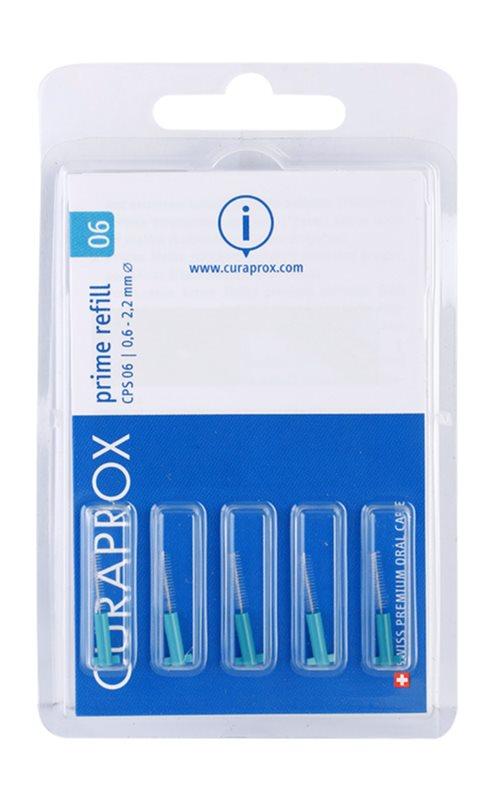 Curaprox Prime Refill CPS 5 Stück Interdental-Ersatzbürsten in der Blisterverpackung