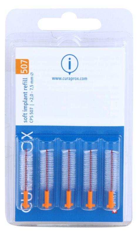 Curaprox Soft Implantat CPS змінні міжзубні щітки для чищення імплантатів 5 шт