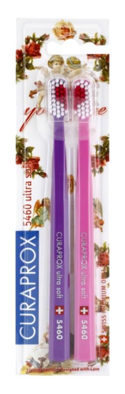 Curaprox 5460 Ultra Soft With Love Zahnbürsten 2 Stk.
