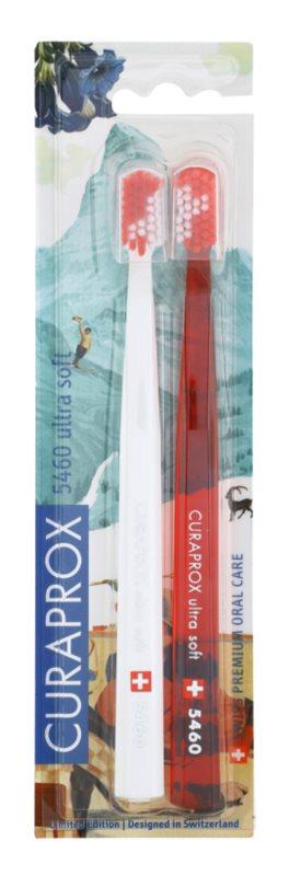 Curaprox 5460 Ultra Soft Swiss Edition - Zermatt Zahnbürsten 2 Stk.