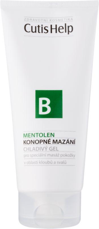 CutisHelp Health Care B - Mentolen gel refrescante de cáñamo con mentol para músculos y articulaciones