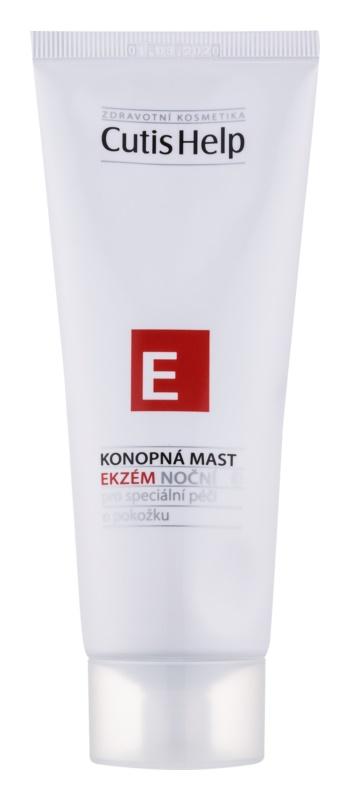 CutisHelp Health Care E - Ekzém pomata notte alla canapa contro gli eczemi per viso e corpo