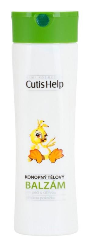 CutisHelp Mimi бальзам для тіла з екстрактом коноплі для дітей від народження